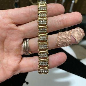 Genuine 5kt diamond tennis bracelet